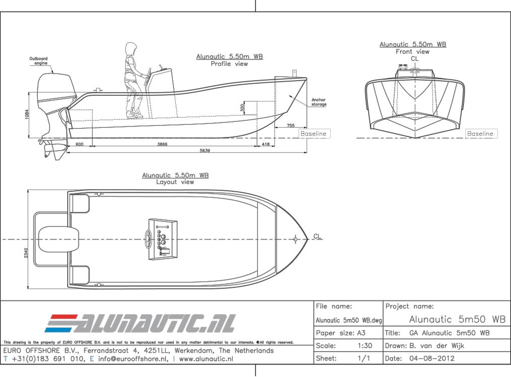 Workboat 5m50