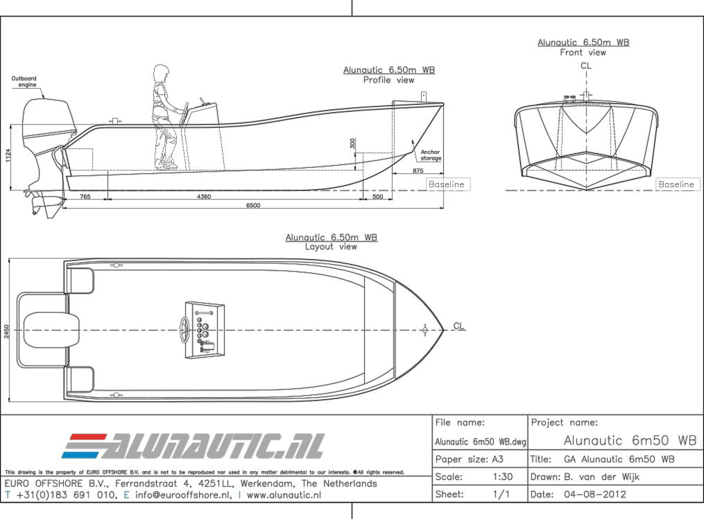 Workboat 6m50
