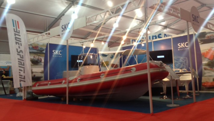 Alunautic exhibiting at Istanbul boatshow