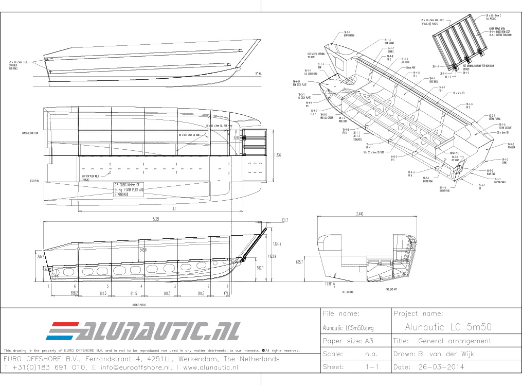Landingcraft 5m50