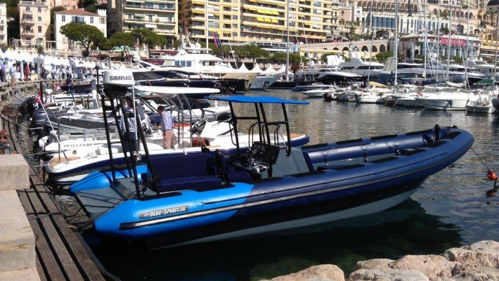 Alunautic exhibiting at Monaco Yacht Show