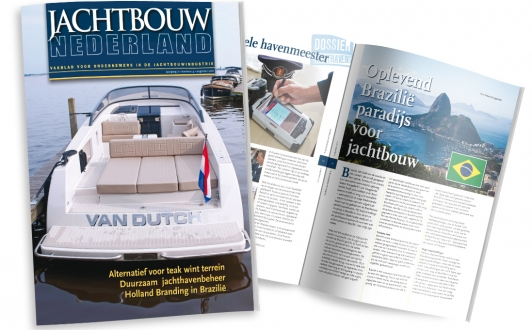 Alunautic in Dutch magazine Jachtbouw Nederland