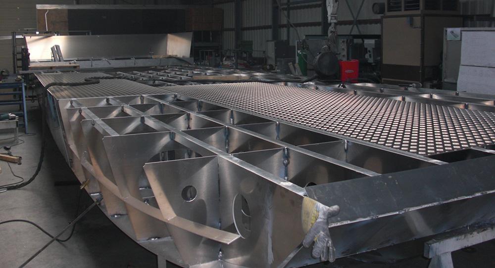 Aluminium landing crafts