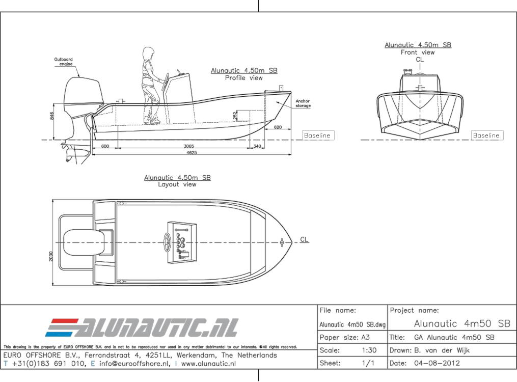 Sportboat 4m50