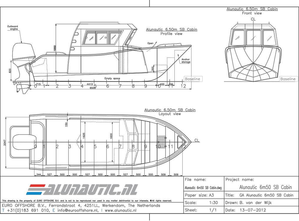 Sportboat 6m50